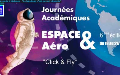 Table Ronde pour les Journées Académiques de l'Aéronautique et de l'Espace